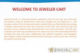 eCommerce site on how to sell jewelry