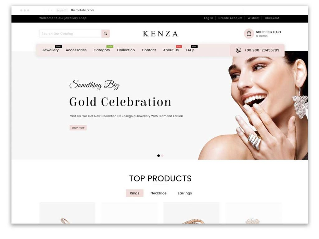 Shopify jewelry themes